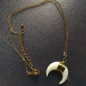 Jewelry - Crescent Moon Necklace